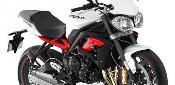 Présentation de la nouvelle moto Triumph Street Triple 675 R